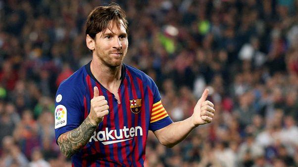 ميسي يعود لتدريبات برشلونة بشكل أسرع مما كان متوقعا