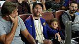 FC Barcelone: Messi reprend la course après sa blessure au bras