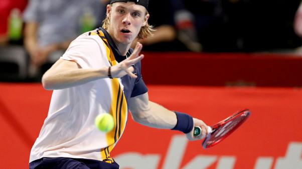 Shapovalov withdraws from Next Gen Finals