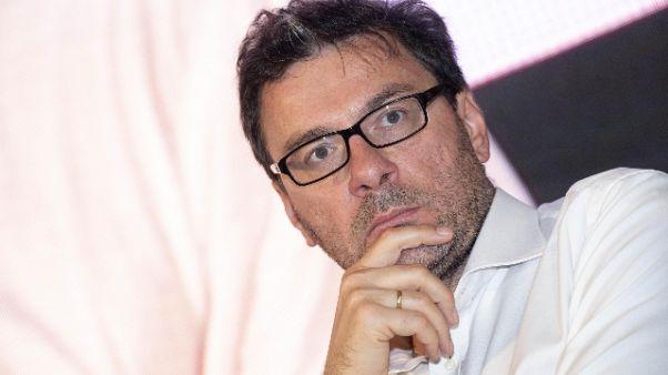 """Giorgetti: """"Cip in riforma? Discuteremo"""""""