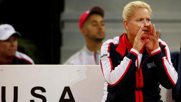 U.S. name unfamiliar lineup for Fed Cup final