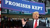 En campagne, Trump promet toujours plus de soldats face aux migrants