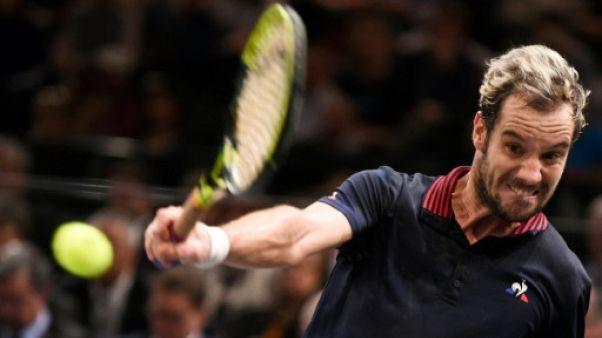 """Coupe Davis: Gasquet sûr """"à 1000%"""" d'être prêt pour la finale"""