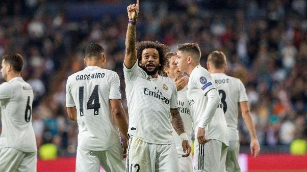 R.Madrid: Marcelo ko per almeno un mese