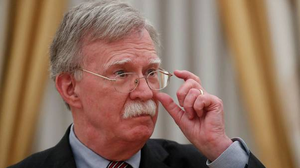 U.S. doesn't want to harm friends, allies with Iran sanctions - Bolton