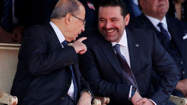 """عون يقول الخلافات بشأن حكومة لبنان """"ليست سهلة"""" ويلمح إلى خلاف مع حزب الله"""