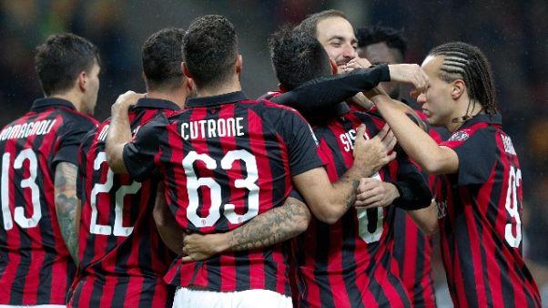 2-1 al Genoa, Milan vola al 4/o posto
