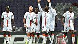 Coupe de la Ligue: Lorient s'offre Toulouse, Dijon coule Caen