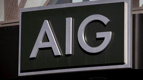 Insurer AIG's quarterly loss narrows on reinsurance benefit