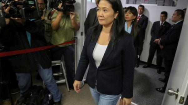 Pérou : la dirigeante de l'opposition Keiko Fujimori emprisonnée
