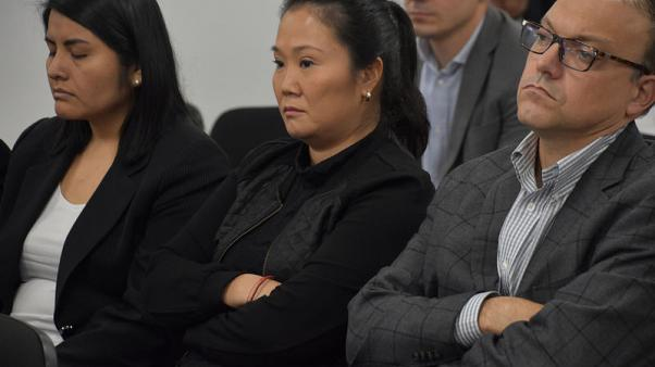 Peru opposition leader Fujimori ordered back to jail by judge