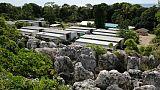 """Le camp de réfugiés """"Camp Four"""" sur l'île de Nauru, le 2 septembre 2018"""