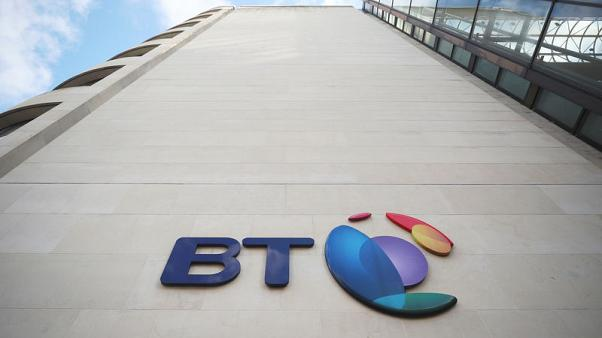 BT reports better-than expected first-half earnings, nudges up outlook