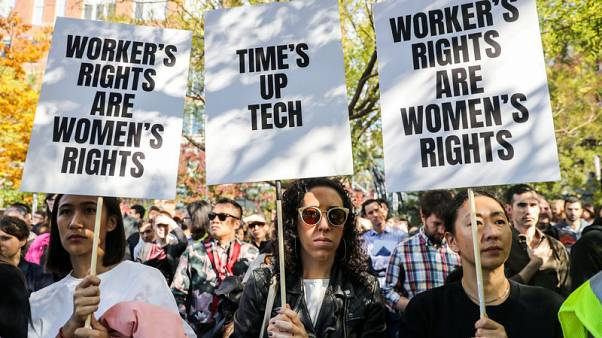 Google's '#metoo' moment: Workers walk out over women's rights