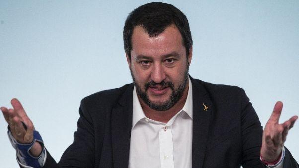 Diciotti: Salvini, chiesta archiviazione