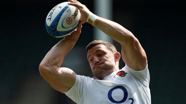 Wilson in at number eight for England, Farrell flyhalf