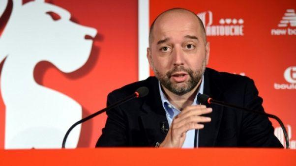 """Lille: """"Je me régale"""", dit Gérard Lopez"""