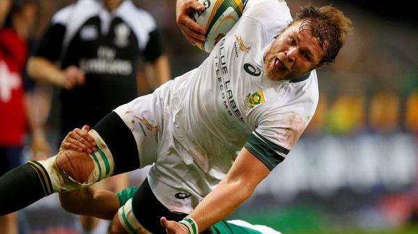 Vermeulen back for Boks as Erasmus shuffles pack for England