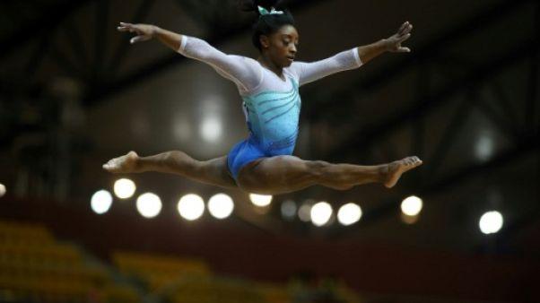 Mondiaux de gymnastique: 4e titre record pour l'Américaine Biles au concours général