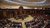 Une session du Parlement arménien à Erevan, en mai 2018