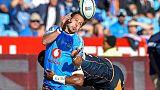Rugby: le Sud-Africain Van Zyl titulaire à la mêlée face à l'Angleterre