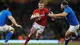 Gatland urges Anscombe to seize chance at flyhalf against Scots