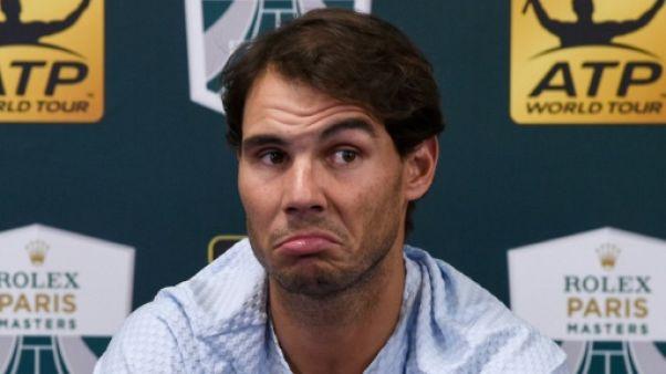 Tennis: Paris, terminus d'un circuit sur les rotules