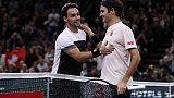 Parigi-Bercy, Fognini cede a Federer