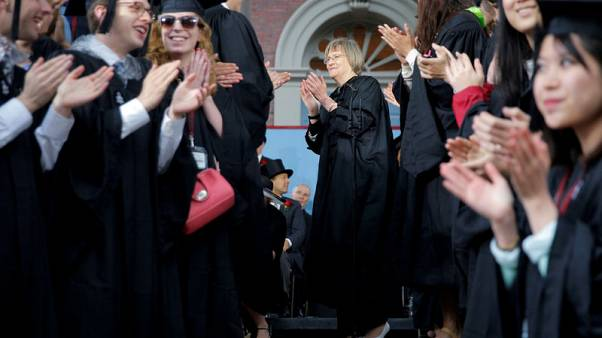 Former Harvard president defends school in Asian-American bias trial