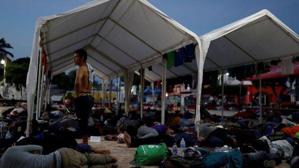 ترامب: إجراءات للحد من طلبات اللجوء على الحدود الأمريكية