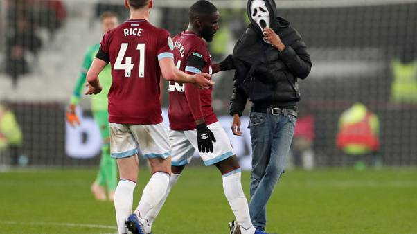 West Ham ban pitch invaders for life