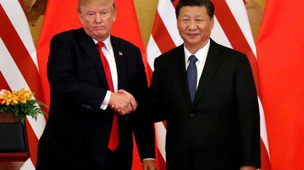ترامب وشي متفائلان بشأن التجارة بين البلدين بعد اتصال هاتفي