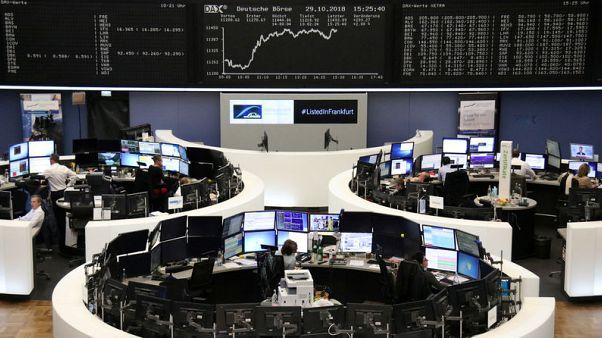 أسهم أوروبا تنضم لموجة الصعود العالمية