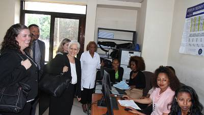 Office of Global AIDS Coordinator (S/GAC) Chair for Ethiopia, Dr. Heather Watts Visits Ethiopia