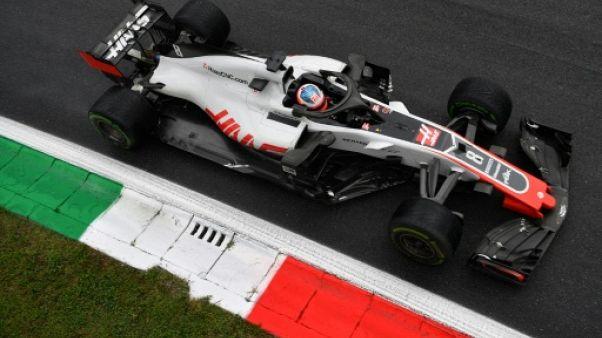F1: la disqualification de Grosjean au GP d'Italie confirmée en appel