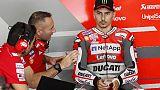 """Moto: Lorenzo, """"il braccio mi fa male"""""""