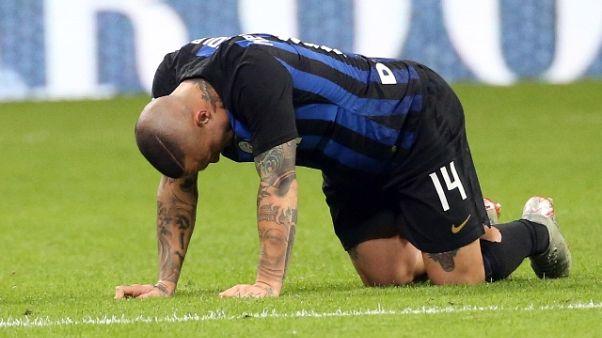 Inter: Nainggolan convocato per Genoa