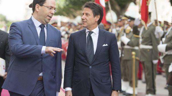 Conte, a Palermo libici di alto livello