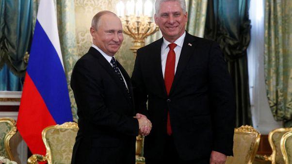 روسيا وكوبا تحثان أمريكا على إعادة النظر في الانسحاب من معاهدة نووية