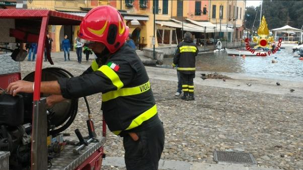 Presidio permanente Vvf a Portofino