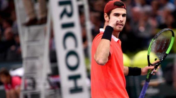 Masters 1000 Paris: Khachanov survole son match contre Zverev et file en demie