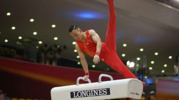 Mondiaux de gymnastique: le Chinois Xiao Ruoteng titré au cheval d'arçons