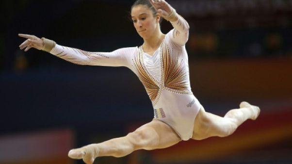 Mondiaux de gymnastique: la Belge Derwael en or aux barres, Biles en argent