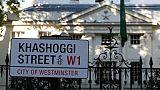 Une rue de Londres rebaptisée Khashoggi, un mois après son meurtre
