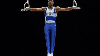 Mondiaux de gymnastique: le Grec Petrounias reste le seigneur des anneaux