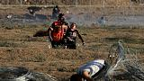 Gaza border protest more subdued as Egypt pushes for calm