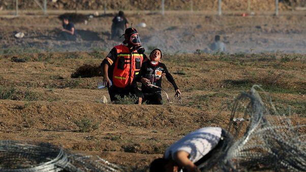 أعداد المحتجين على حدود قطاع غزة تتراجع مع مساع مصرية للتهدئة