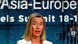 الاتحاد الأوروبي يأسف لقرار واشنطن إعادة فرض عقوبات على إيران
