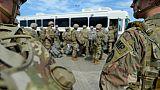 Migrants: 7.000 militaires américains près de la frontière mexicaine ce weekend