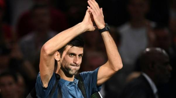 Masters 1000 Paris: Djokovic renverse Cilic et attend Federer en demi-finale